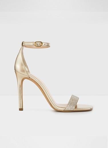 Aldo Afenda-Tr - Gold Kadin Topuklu Sandalet Sarı